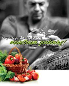 Milo Shammas organic gardening is now mainstream gardening